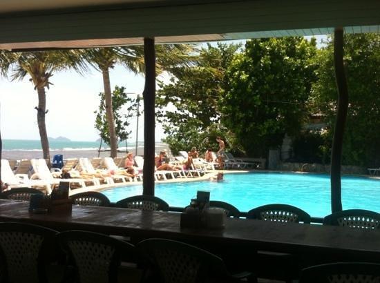 Koh Phangan Coral Bungalows Haadrin Nai : pool