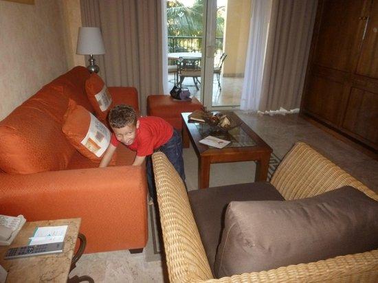 Villa del Mar Beach Resort & Spa: Living room