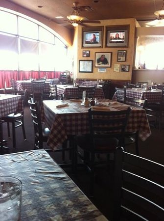Mama Louise Italian Restaurant: Front Wall View.