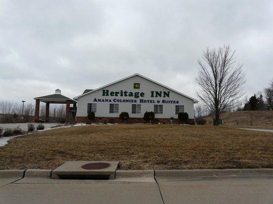 Heritage Inn Amana Colonies Hotel & Suites : Nice hotel in Amana Colonies