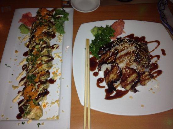 Lanna Thai Restaurant: Crunchy Roll & Unagi Don