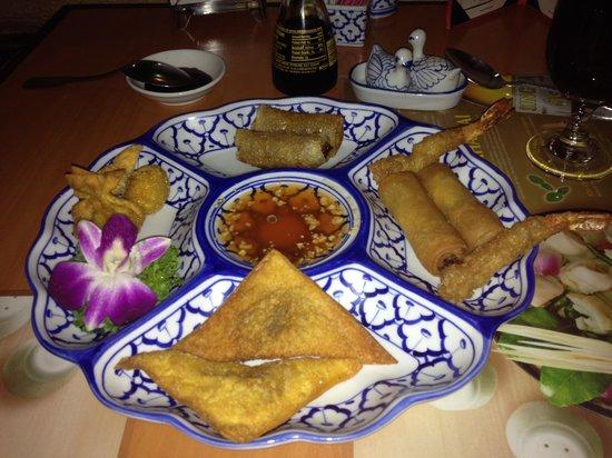 Lanna Thai Restaurant: Sampler