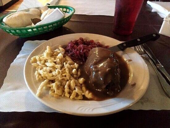 The Hub: Stuffed Beef Rouladen