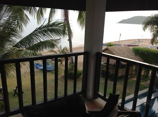 Baan Bophut Beach Hotel: view from room 8