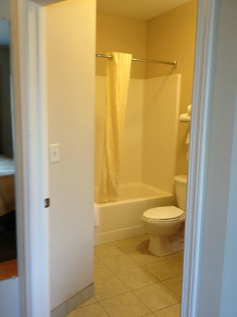 Candlewood Suites Lincoln : Spacious bathroom!