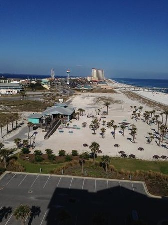 Margaritaville Beach Hotel: Another view from wrap around balcony