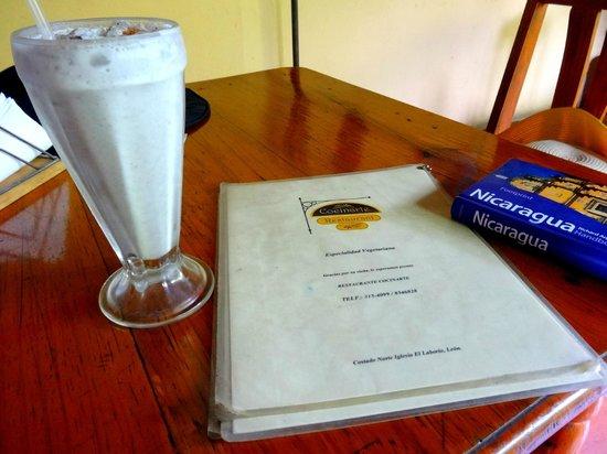CocinArte: Local Jicaro juice :)