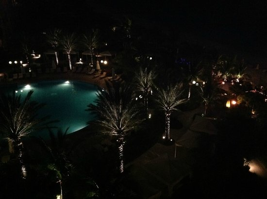 Seven Stars Resort & Spa: Night View of Pool from Balcony
