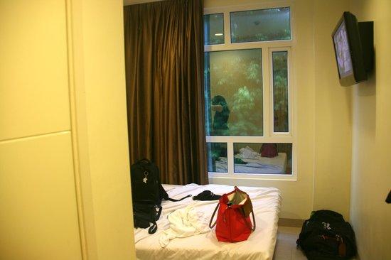 โรงแรม 81 โอซาก้า: Our window