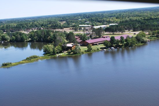 Eagle River Inn Restaurant & Lounge: overhead view