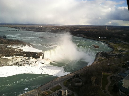 DoubleTree Fallsview Resort & Spa by Hilton - Niagara Falls: Falls from Skylon