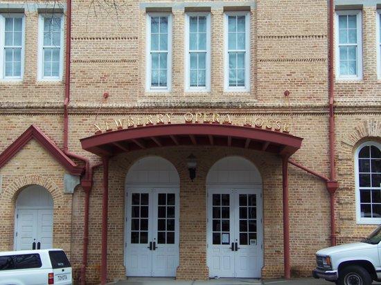 Newberry Opera House: Front Door