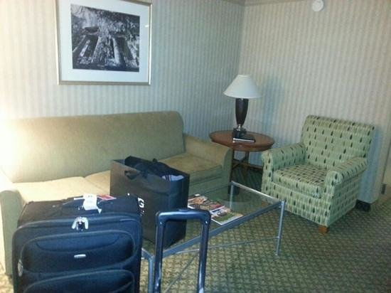 Embassy Suites Newark - Wilmington/South: seting area was nice