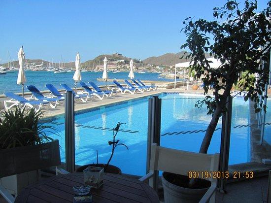 Le Beach Hôtel: la piscine