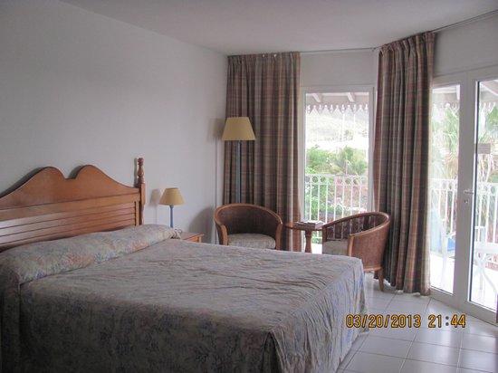 Le Beach Hôtel: encore la chambre