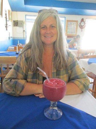 El Marquez: Great fruit drinks!
