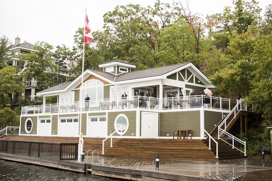 Bracebridge, Canada: Boathouse