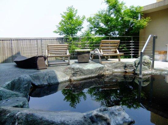 成田市, 千葉県, 露天風呂