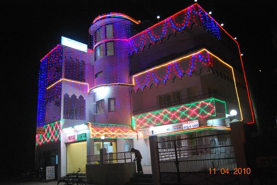Hotel Ankur: Front night view