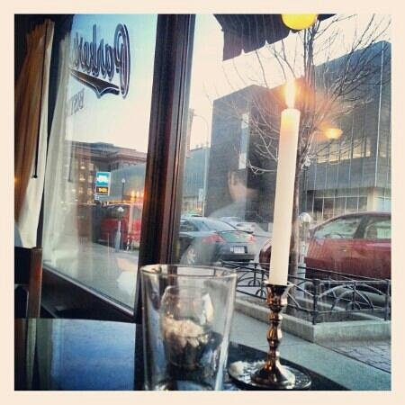 Parker's Bistro: Great view