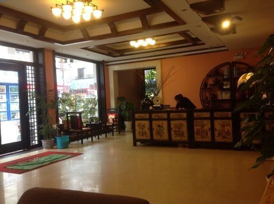 Magnolia Hotel: lobby
