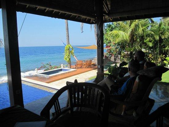 Villa Alba Dive Resort: Fantastic view