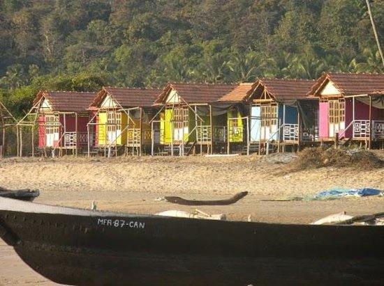 Agonda Beach: Hut Cottages at Agonda