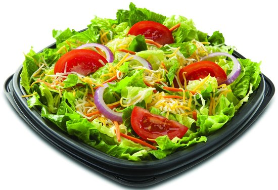 Wing Zone: Garden Salad