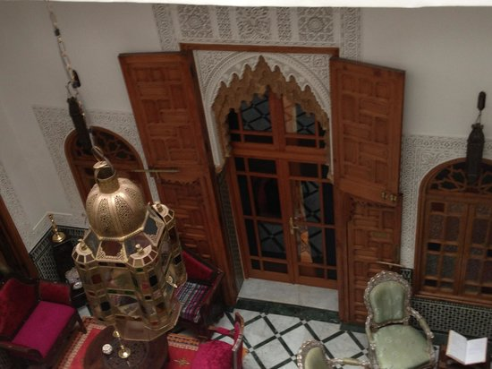 Riad Dar El Kebira: Courtyard