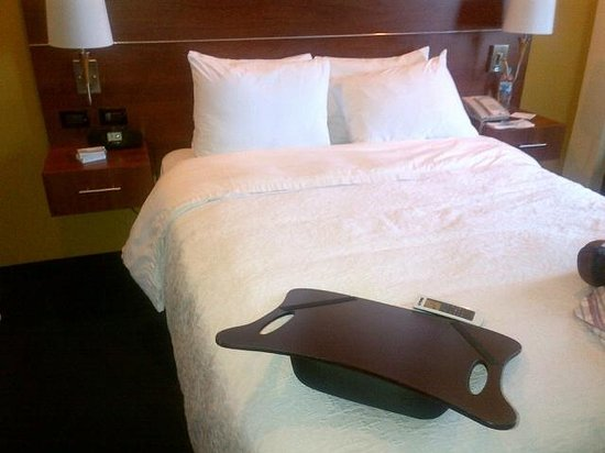 Hampton Inn by Hilton San Juan Del Rio: la cama es deliciosa, con colchon suave premium