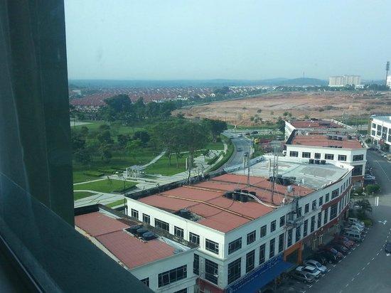 Hotel Granada Johor Bahru: nice park nearby