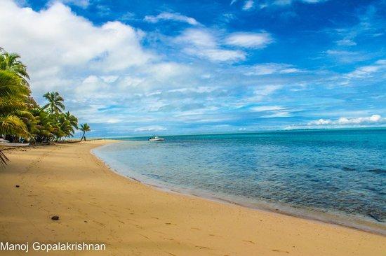 Leleuvia Island Resort: Beach