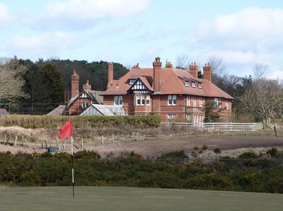 Sandhill House: View from Royal Troon golf course.