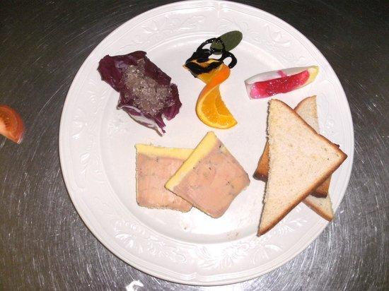 Hotel-Restaurant Au Relais Du Chateau Mensberg: Le Fois Gras de Canard fait maison