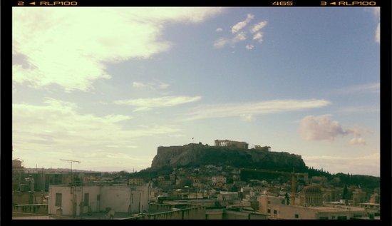 Astor Hotel Athens: vue de la salle de petit déjeuner