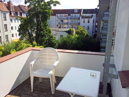Baltic Hotel : Terraza de la habitación