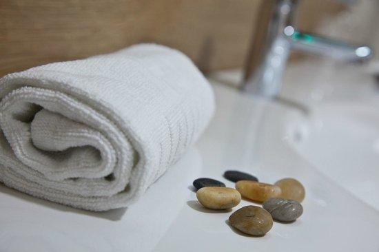 Hotel Palacio de Cristal: Detalle de baño