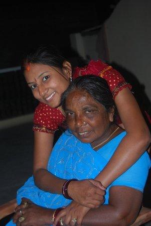 Khushi Paying Guest House : Parvati et Sanjana