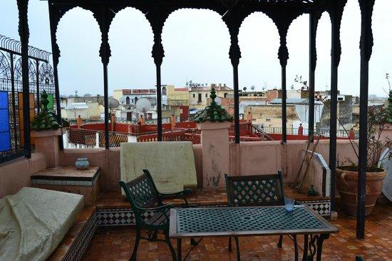 Riad d'Or Hotel: terrazzo