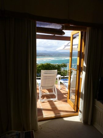The Plettenberg Hotel: The view from inside the room