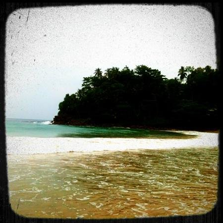 Talalla Retreat: Der Strand