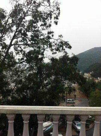 Pousada de Coloane Beach Hotel & Restaurant: View from our balcony