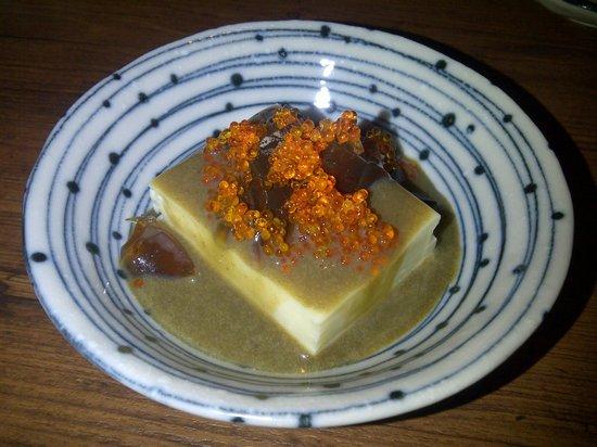 Shunjuu: pitan dofu (century egg dofu)