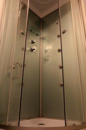 Bed & Breakfast Penzion Brno: Massage shower