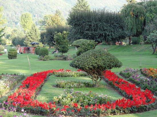 Jawaharlal Nehru Memorial Botanical Gardens : A view of the botanical gardens