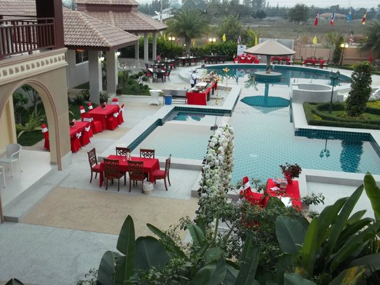 Sahwan Boutique Resort : สระน้ำสวยไหมค่ะ
