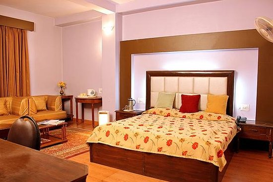 Hotel Himland East Shimla: Deluxe Double Bedroom