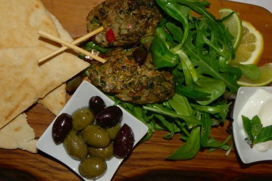 Cream: lamb koftas