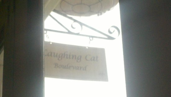 The Laughing Cat: Added character to Ybor city charm