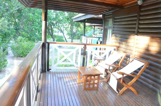 Acajou Beach Resort: balcon